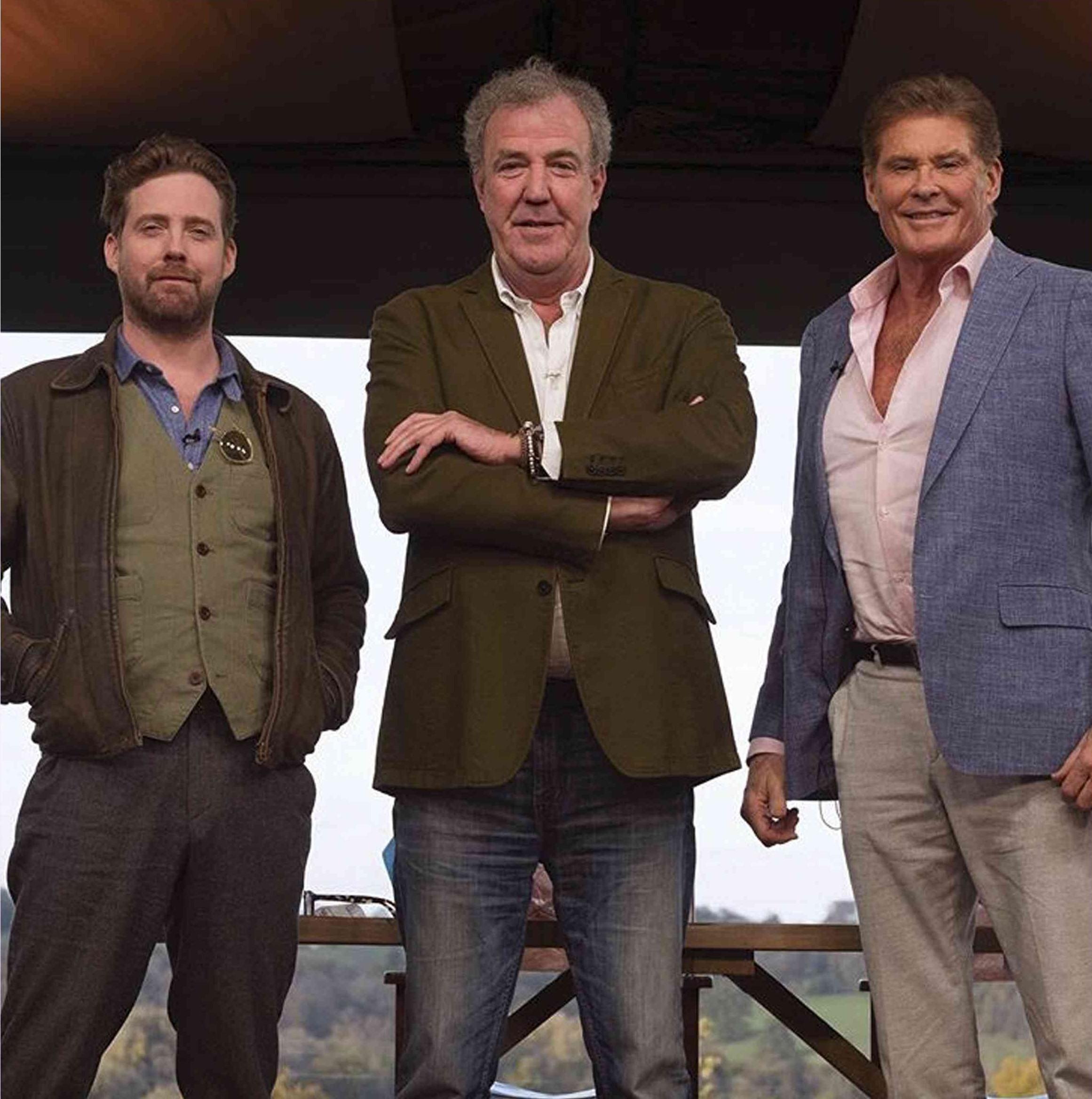 Ricky Wilson, Jeremy Clarkson & David Hasselhoff